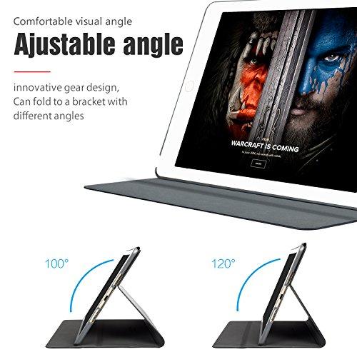 AUAUA iPad Mini 4 Case, iPad Mini 4 PU Leather Case with Smart Cover Auto Sleep/Wake +Screen Protector For Apple iPad Mini 4, 7.9 inch Apple Tablet (Mini 4, Brown) Photo #6