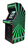 Professionally Made Commercial Quality LED JAMMA Ready Vertical Arcade Cabinet w Trackball. Plug and Play Any JAMMA Board!