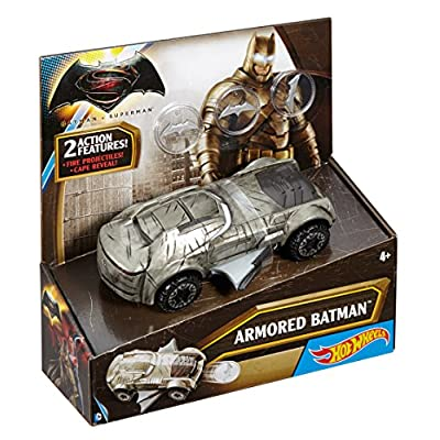 Hot Wheels DC Universe Armored Batman Vehicle: Toys & Games