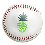 Nvthenpiaoliang Pineapple Soft Standard Practice Ball Baseball Game Ball