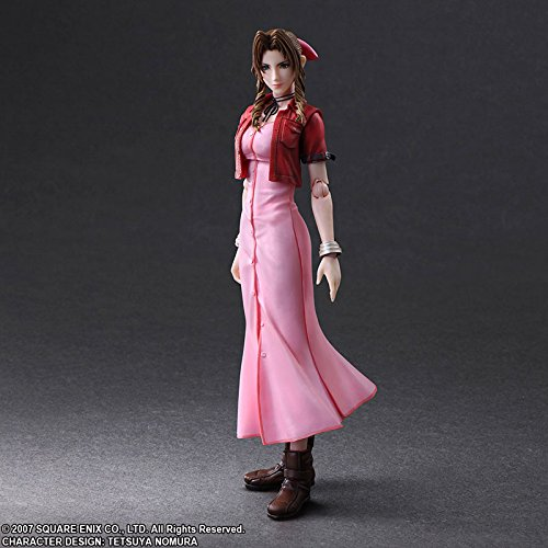 Square Enix Final Fantasy Crisis Core Aerith Gainsborough Play Arts Kai Action Figure