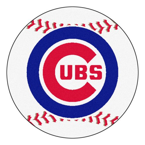Price comparison product image FANMATS MLB Chicago Cubs Nylon Face Baseball Rug
