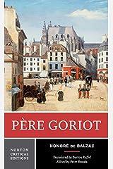 Pere Goriot (Norton Critical Editions) Paperback