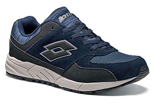 Lotto - Zapatillas de tenis para niño Blau (NAVY DARK/BLACK)