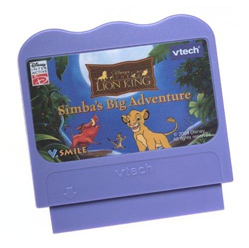 V Tech - V.Smile - The Lion King Simba's Big Adventure