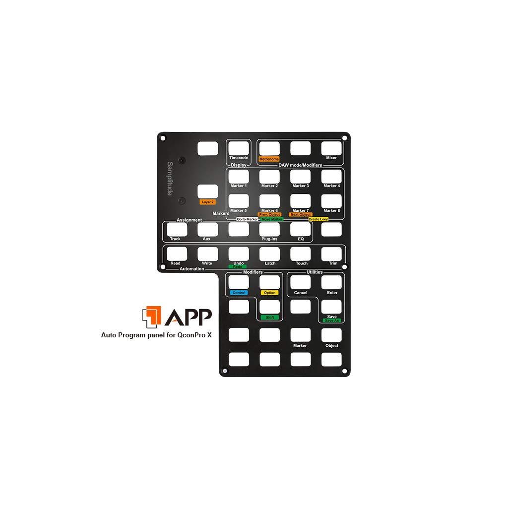Icon Pro Audio Icoa-appl Ableton Live Auto Panneau de Programme pour Qcon Pro X DAW contr/ôleur ProTools