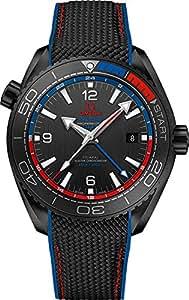 "215.92.46.22.01.004 | Omega Seamaster Planet Ocean ""ETNZ"" Deep Black Men's Watch"