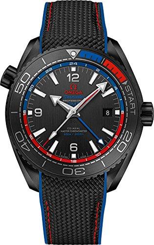 omega mens black watch - 9