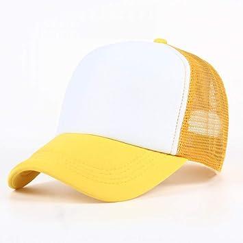 ZKADMZ@ Voron 11 Color Verano Hombres Y Mujeres Sombrero De Béisbol Casual Gorras Camionero Gorro. Pasa el ratón por ...