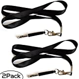 silent whistle for dogs - Kathson 2 Pcs Sport Dog Whistle For dog training & Silent Dog Whistle To Stop Neighbors Dogs From - [FREE Lanydard Strap] - High Pitch Ultrasonic Adjustable Sounds for Behavior Modification