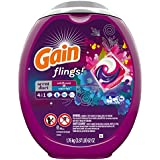 Gewinn Flings Scent Duets Laundry Detergent Pacs, Wildflower and Waterfall Scent, 61 Count