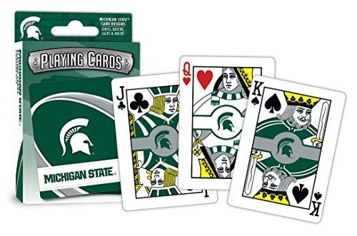 Michigan State Spartans Store - MasterPieces NCAA Michigan State Spartans Playing Cards