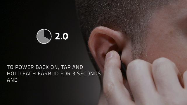 Razer Hammerhead True Wireless Bluetooth Earbuds: Low-Latency - Water Resistant - Bluetooth 5.0 Auto Pairing - Classic Black