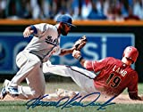 Howie Kendrick Signed Autographed 8X10 Photo LA Dodgers Road Tag at Second COA