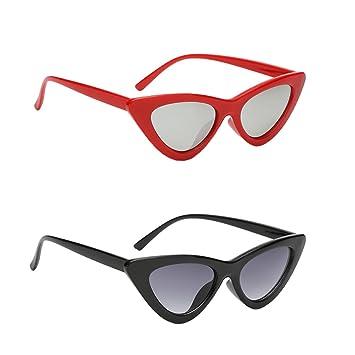 Homyl 2 Unids Gafas de Sol con Lente Espejada UV400 Regalo ...