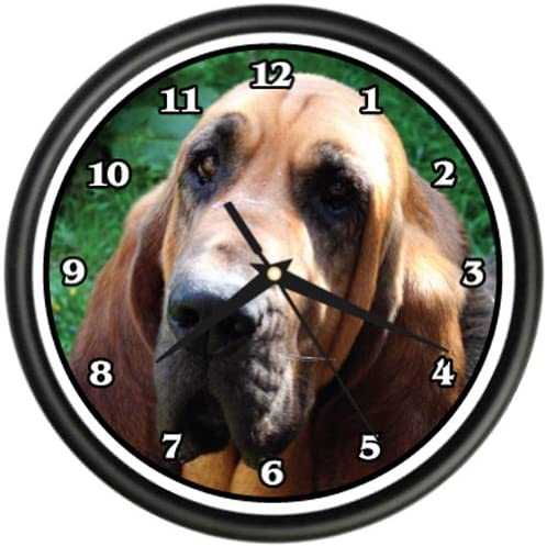 Blood Hound Wall Clock Dog Doggie pet Breed Gift