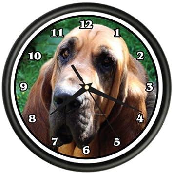 Blood Hound Wall Clock Dog Doggie pet Breed Gift