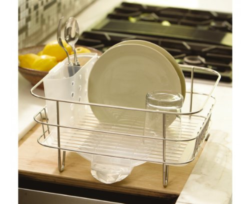 Simplehuman Kitchen Compact Wire Frame Dish Rack With