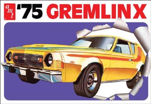 AMT 1975 Gremlin X 1/25 Scale Plastic Model Car Kit (Plastic Window Model)