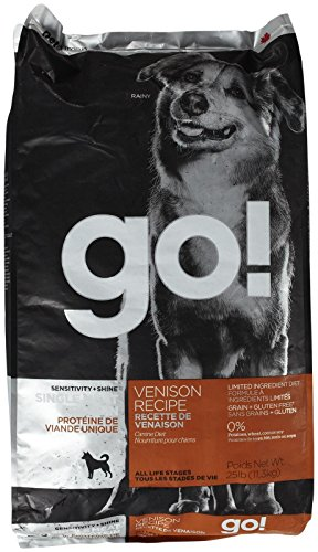 Go! Sensitivity + Shine Venison Recipe Dog Food - 25lb by On The Go