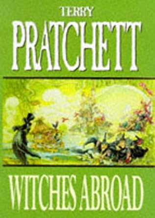 book cover of Witches Abroad