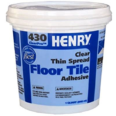 HENRY, WW COMPANY 12097 QT #430 Tile Adhesive