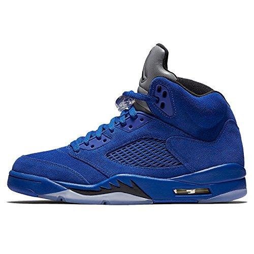 Jordan Men's Air 5 Retro, Game Royal/Black, 17 M US (Retro 17 Jordan Shoes)