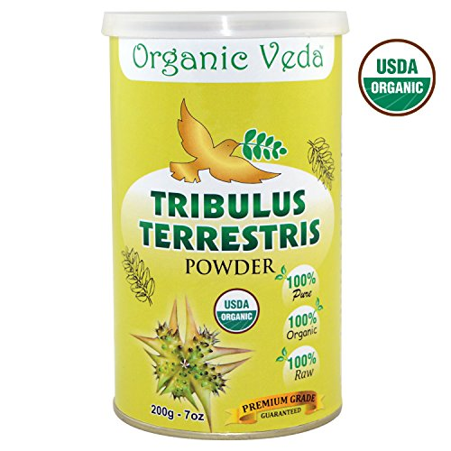 Tribulus Terrestris Powder Supplement Registered product image