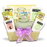 Springtime Zen Tazo Tea Set and Cookie Gift Tray