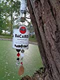Bacardi Superior Rum Wind Chime - Outdoor Decor - Bacardi Rum Gift