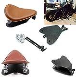 Brown SOLO Seat Bracket Spring Base Mount Kit Barrel Spring For Harley Sportster Chopper Bobber Custom Dyna