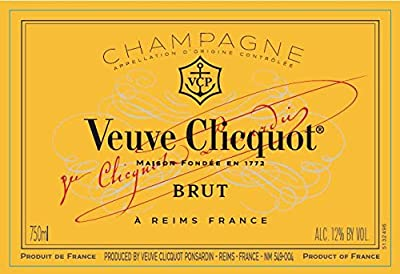 NV Veuve Clicquot Yellow Label, Champagne 750 mL Wine by Veuve Clicquot