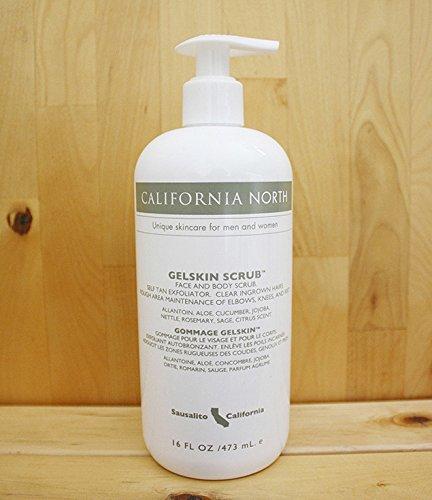 california-north-gelskin-scrub-gss-16-oz-pump-bottle