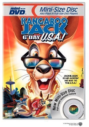 Kangaroo Jack - G'Day USA! (Mini-DVD) by Warner Home Video by Ron Myrick by Warner Manufacturing