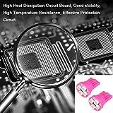 cciyu 10Pack Pink 4-3528-SMD T10 168 194 LED