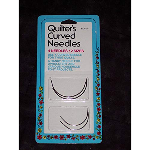 Collins NMC326 Quilters Curved Needles 24