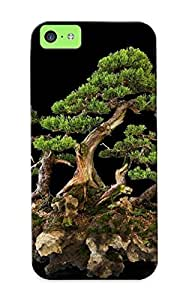 New Design Shatterproof Tjqiet-3234-naqrzzz Case For Iphone 5c (bonsai ) For Lovers