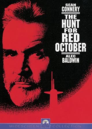 The Hunt for Red October Movie POSTER 11 x 17 Sean Connery A NEW Alec Baldwin