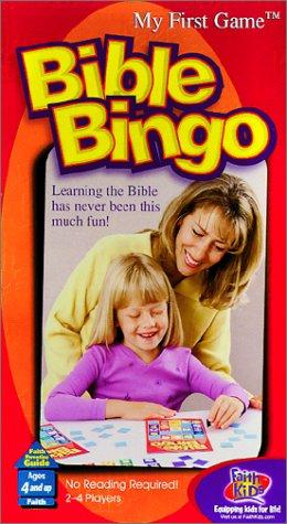 Bible Bingo  My First Game