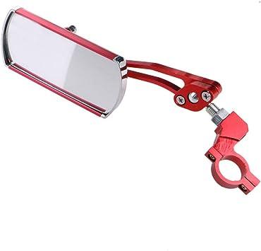 Rouge V/élo V/élo V/élo Arri/ère R/étroviseur Guidon Montage 360 /° Rotation En Aluminium R/étroviseur de S/écurit/é pour V/élo Moto