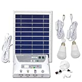 Solar Energy Lamp Solar Power System Lighting Super Bright Led Mobile Phone Charging Light Camping Tent Photovoltaic Power Generation Components Outdoor Family Universa