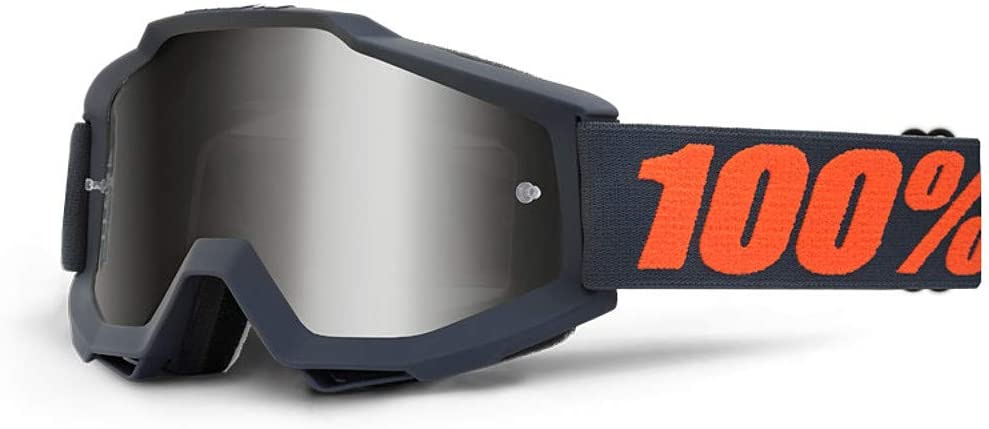 100% ACCURI Sand Goggles Goggle Gunmetal - Grey Smoke Lens, One Size 51H2KXFkBBL