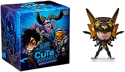 Overwatch Blizzard 3/'/' Tracer Cute but Deadly Series 2 Trading Figure