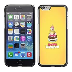 - SWEET CAKE YELLOW BIRTHDAY HAPPY - - Monedero pared Design Premium cuero del tir???¡¯???€????€?????n magn???¡¯&Atild