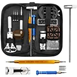Watch Repair Kit, ELECTRAPICK Professional Spring Bar Tool Set, Watch Battery Replacement Tool Kit Watch Band Link Pin Removal with Carrying Case