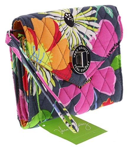 Image of the Vera Bradley Your Turn Smartphone Wristlet in Jazzy Blooms