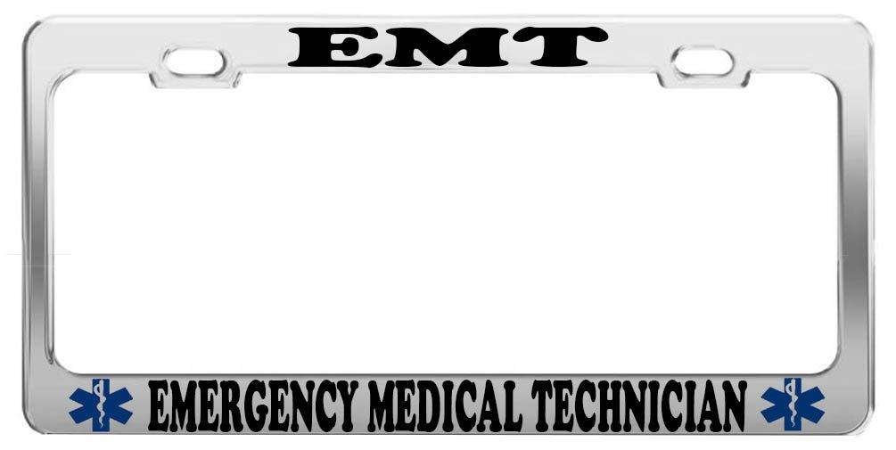 Amazon Emt Emergency Medical Tech Profession License Plate