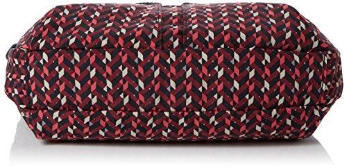 Multicolour Chevron Handbags Pink Women's Izellah Kipling Fq4fUU