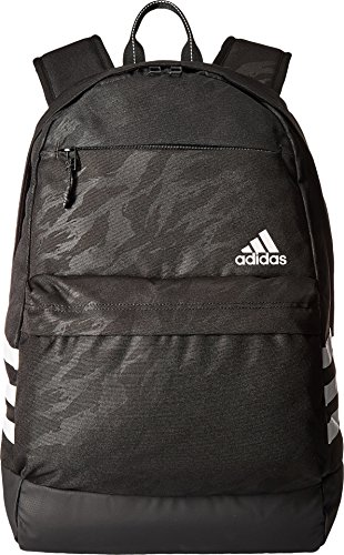 White Tiger Camo (adidas 975693  Daybreak Backpack, Tiger Style Camo Emboss/Black/White, One Size)