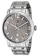 Tommy Hilfiger Men's 1710345 Analog Display Quartz Silver Watch
